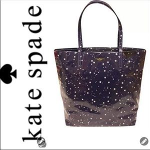 NWT Kate Spade ♠️ Bon Shopper Night Sky Bag